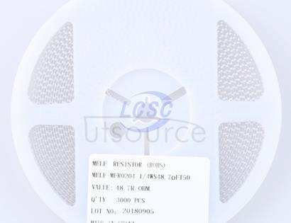 Thunder Component MELF-MFR02041/4WS48.7ΩFT50(20pcs)