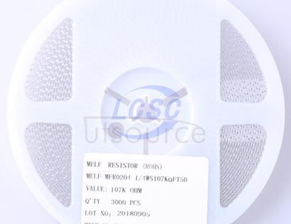 Thunder Component MELF-MFR02041/4WS107KΩFT50