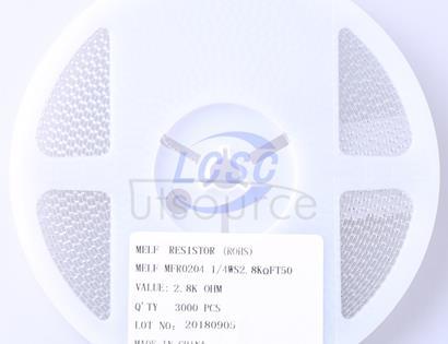 Thunder Component MELF-MFR02041/4WS2.8KΩFT50