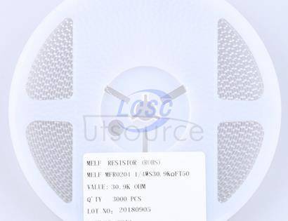Thunder Component MELF-MFR02041/4WS30.9KΩFT50(20pcs)
