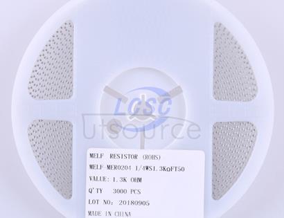 Thunder Component MElF-MFR02041/4WS1.3KΩFT50