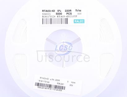 RALEC RTA03-4D221JTP