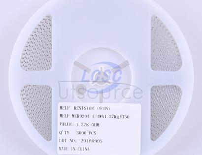 Thunder Component MElF-MFR02041/4WS1.37KΩFT50