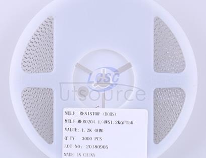 Thunder Component MElF-MFR02041/4WS1.2KΩFT50