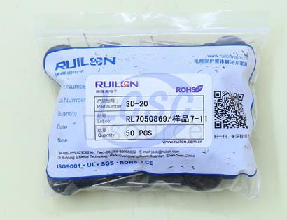 Shenzhen Ruilongyuan Elec NTC 3D-20