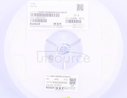 Sunlord SDNT1608X503J4150HTF
