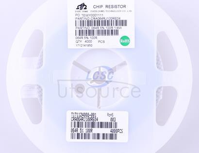 Ever Ohms Tech CRA064RJ100RE04Z(5pcs)
