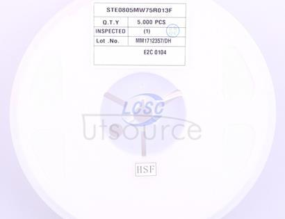 Walter Elec STE0805MW75R013F