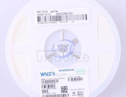 Walsin Tech Corp WA06X104JTL(50pcs)