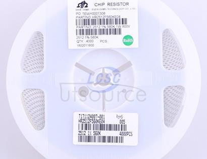 Ever Ohms Tech HR2512F560KE04