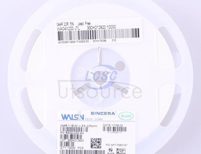 Walsin Tech Corp WA04X220JTL(50pcs)
