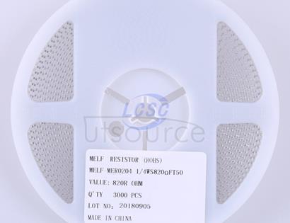 Thunder Component MElF-MFR02041/4WS820ΩFT50