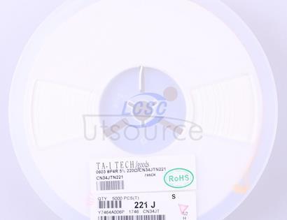 TA-I Tech CN34JTN221(50pcs)