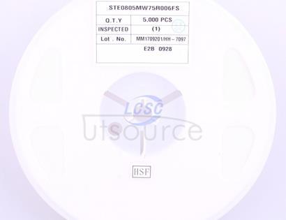 Walter Elec STE0805MW75R006FS