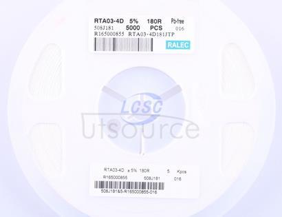 RALEC RTA03-4D181JTP