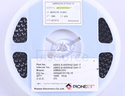 Abracon LLC ABM2-8.000MHZ-D4Y-T
