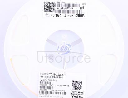 YAGEO YC164-JR-07200RL