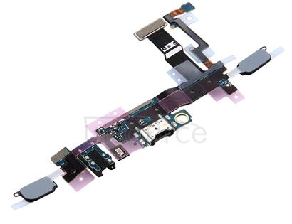 Charging Port + Home Button + Earphone Jack Flex Cable for Galaxy C5 Pro / C5010