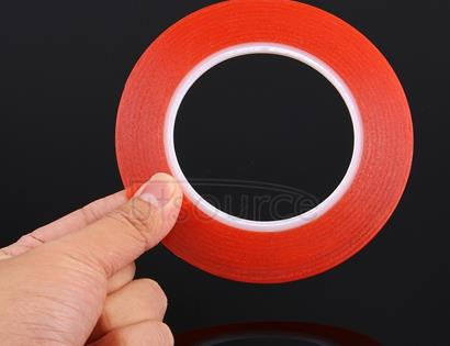 3mm width 3M Double Sided Adhesive Sticker Tape for iPhone / Samsung / HTC Mobile Phone Touch Panel Repair,  Length: 25m (Red)