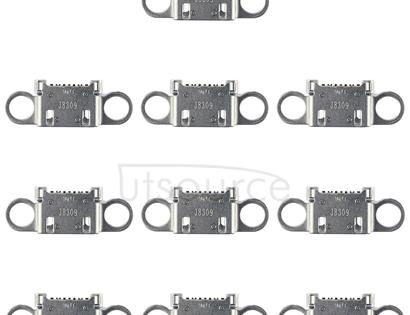 10 PCS Charging Port Connector for Galaxy C5 / C7 / S6 / Note 5