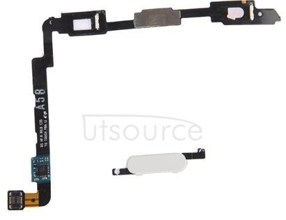 LCD Middle Board with Button Cable,  for Galaxy Note II / N7100(White)