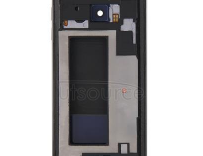 Full Housing Cover (Front Housing LCD Frame Bezel Plate + Back Plate Housing Camera Lens Panel + Battery Back Cover ) for Galaxy S6 Edge / G925(Blue)
