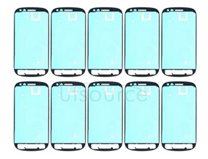 10 PCS Front Housing Panel Adhesive Sticker  for Galaxy SIII mini / i8190