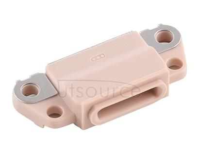 10 PCS Charging Port Connector for iPhone 8 Plus / 8(Gold)