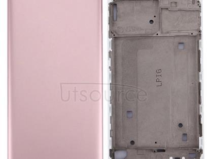 Vivo X7 Battery Back Cover + Front Housing LCD Frame Bezel Plate(Rose Gold)