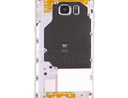 Middle Frame Bezel for Galaxy Note 5 / N9200(Silver)