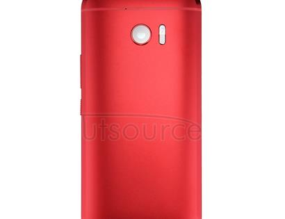 Full Housing Cover (Front Housing LCD Frame Bezel Plate + Back Cover) for HTC 10 / One M10(Red)