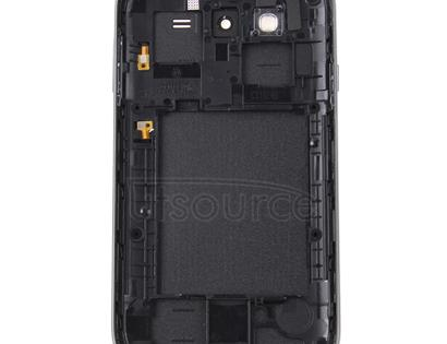 Middle Frame Bezel + Battery Back Cover for Galaxy Grand Duos / i9082(Black)