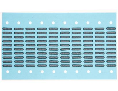 100 PCS Anti Dust Mesh Glue Sticker for iPhone 4/4S Telephone Receiver