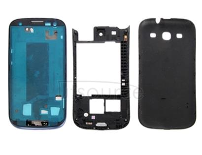 Original Full Housing Chassis Cover For Galaxy SIII / i9300(Dark Blue)