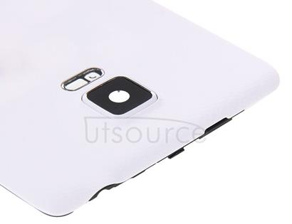 Full Housing Cover (Middle Frame Bezel + Battery Back Cover ) for Galaxy Note Edge / N915(White)