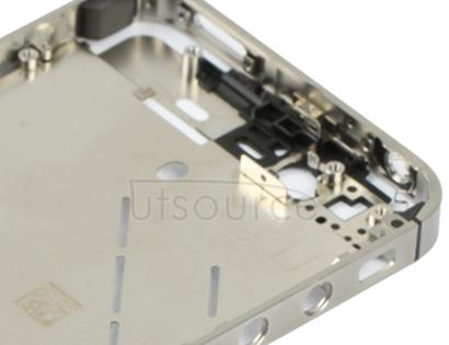 2 in 1 for iPhone 4S (Original Front Bezel + Original Middle Board)