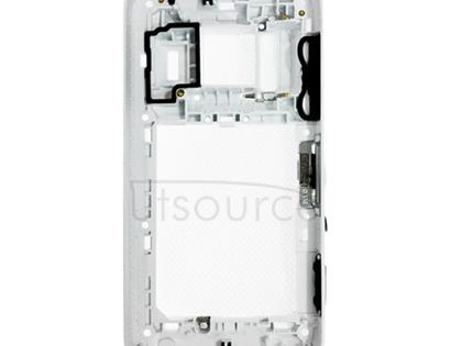 for Nokia 808 PureView Middle Frame Bezel(White)