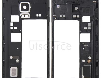Middle Frame Bezel / Rear Housing  for Galaxy Note Edge / N915(White)