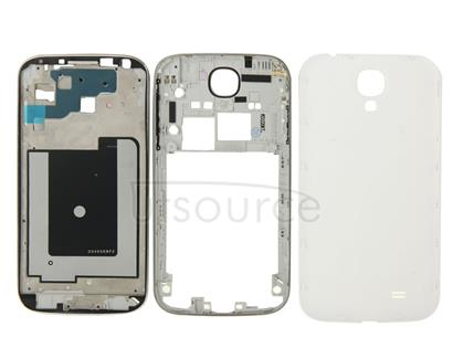 Full Housing Faceplate Cover  for Galaxy S4 / i337(White)