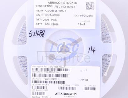 Abracon LLC AISC-0805-R39J-T