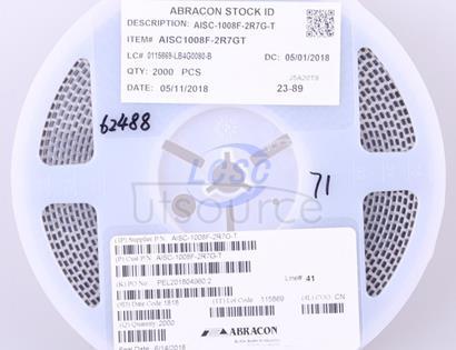 Abracon LLC AISC-1008F-2R7G-T
