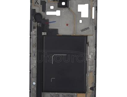 LCD Middle Board with Flex Cable,  for Galaxy Note i9220(Black)