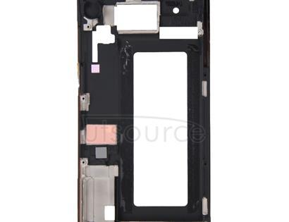 Full Housing Cover (Front Housing LCD Frame Bezel Plate + Battery Back Cover ) for Galaxy S6 Edge / G925(White)