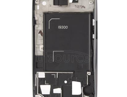 2 in 1 for Galaxy S III / i9300 (Original LCD Middle Board + Original Front Chassis)(Grey)