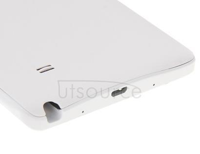 Full Housing Cover (Front Housing LCD Frame Bezel Plate + Middle Frame Bezel + Battery Back Cover ) for Galaxy Note Edge / N915(White)