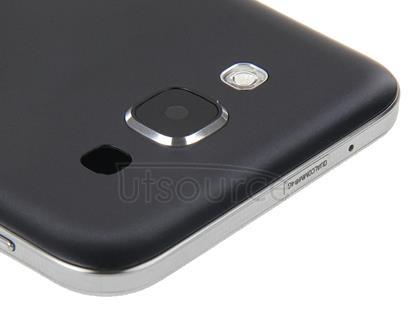 Full Housing Cover (Front Housing LCD Frame Bezel Plate + Rear Housing Battery Back Cover ) for Galaxy E5 / E500(Black)