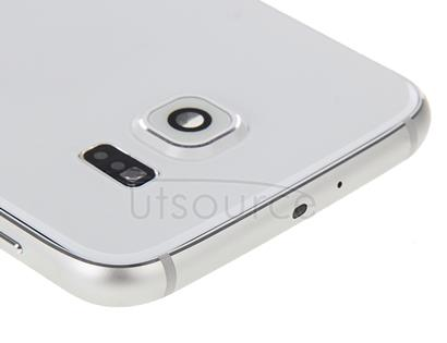 Full Housing Cover (Front Housing LCD Frame Bezel Plate + Back Plate Housing Camera Lens Panel + Battery Back Cover ) for Galaxy S6 / G920F(White)