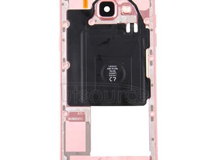 Middle Frame Bezel for Galaxy A5 (2016) / A5100(Pink)