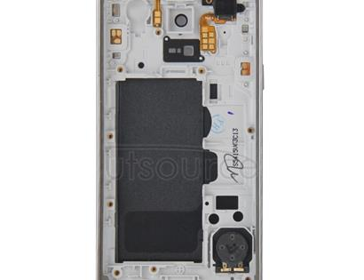 Full Housing Cover (Middle Frame Bazel Back Plate Housing Camera Lens Panel + Battery Back Cover )for Galaxy S5 mini / G800(Black)