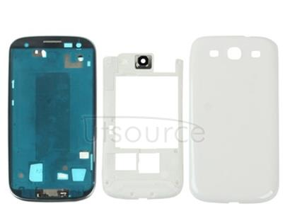 Full Housing Chassis for Galaxy SIII / i9300(White)